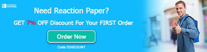Order Reaction Paper
