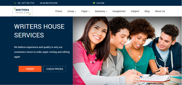 writers-house.com website