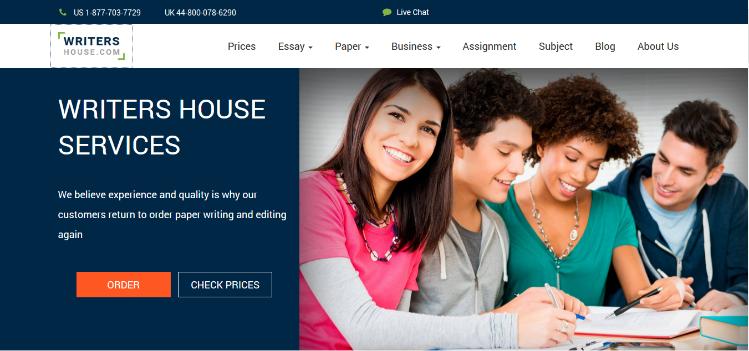 writers-house.com website