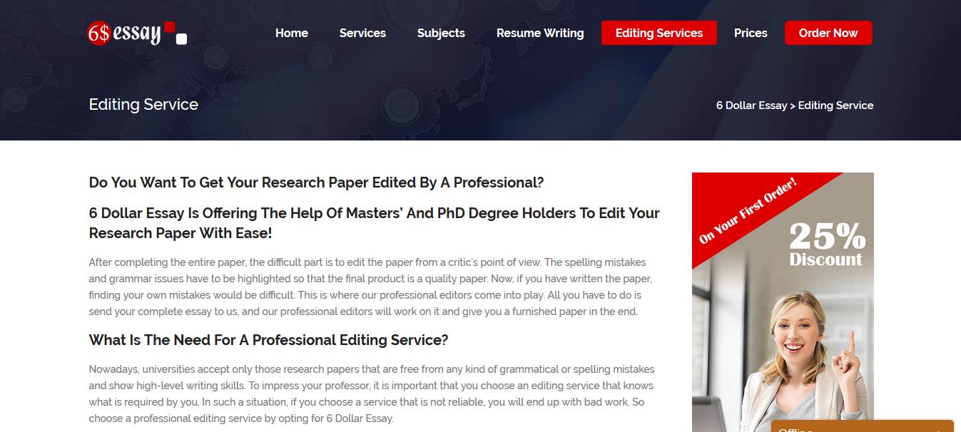 6dollaressay editing service