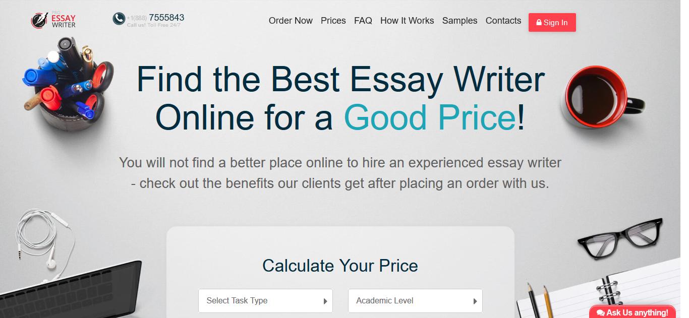 pro-essay-writer.com website