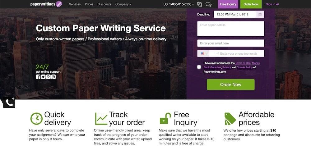 paperwritings review