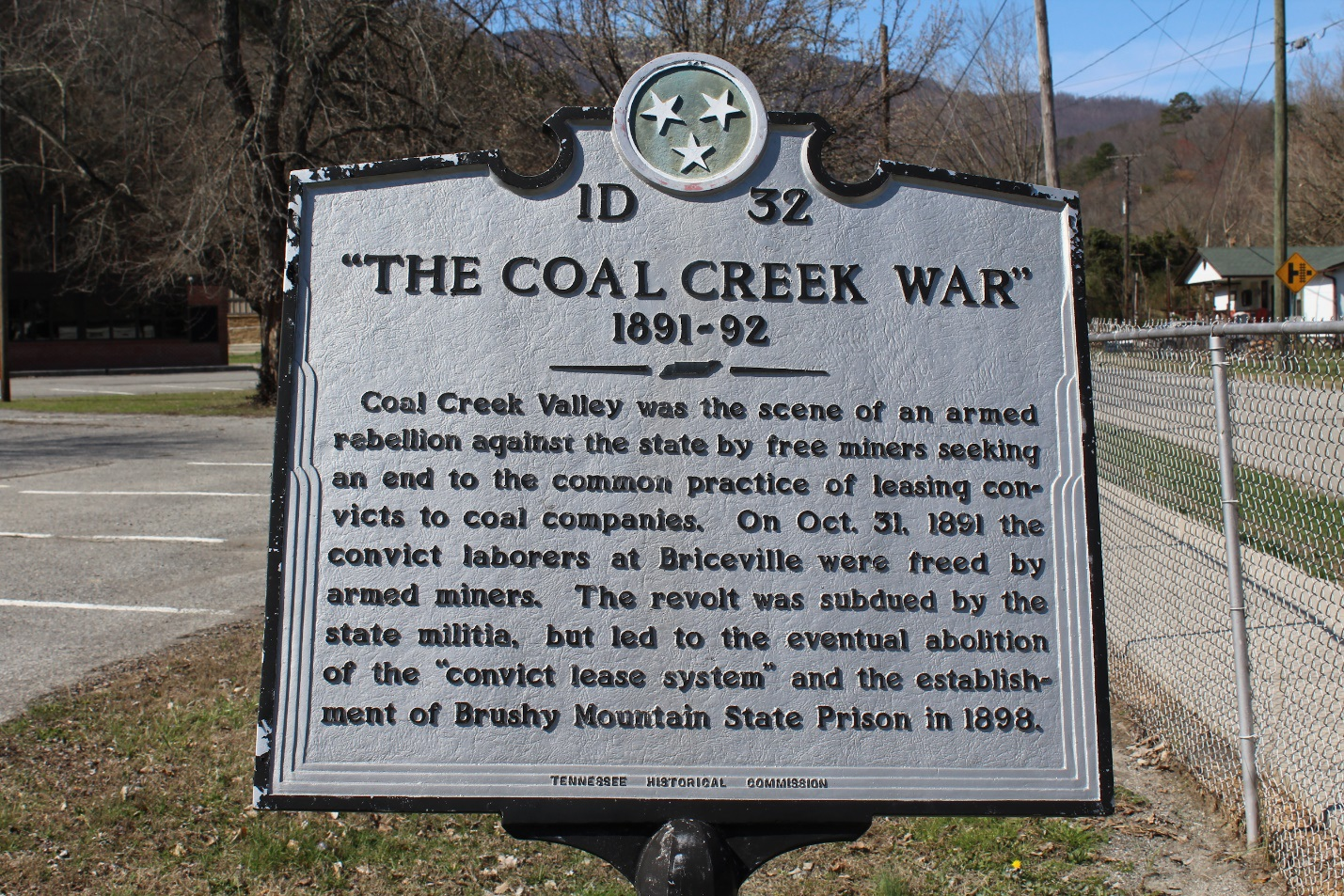 Historical Markers in Tennessee